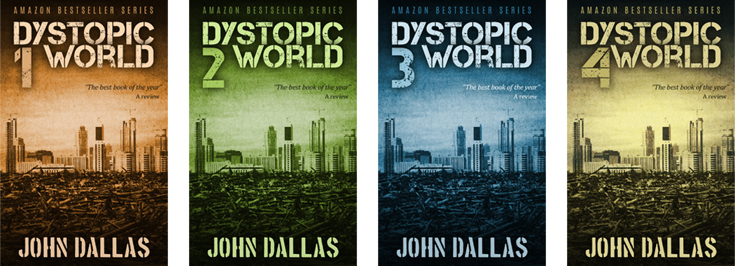 Nº 0118-0119-0120-0121: Dystopic World Series