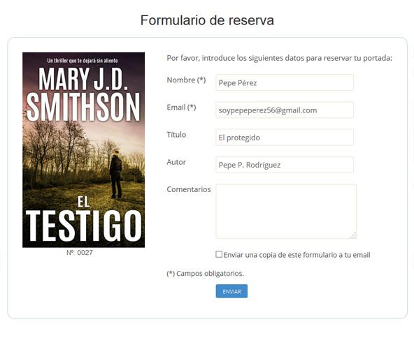 Portadas para ebooks - Reservar portada