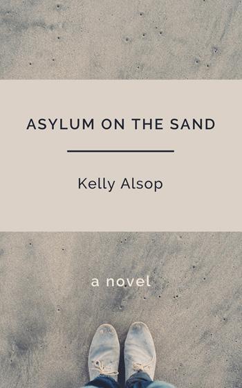 Asylum on the sand – Portada para ebook