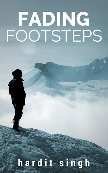 Fading Footsteps – Portada para ebook