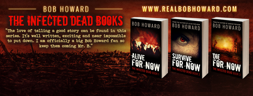 The Infected Dead Books – Cabecera para Facebook