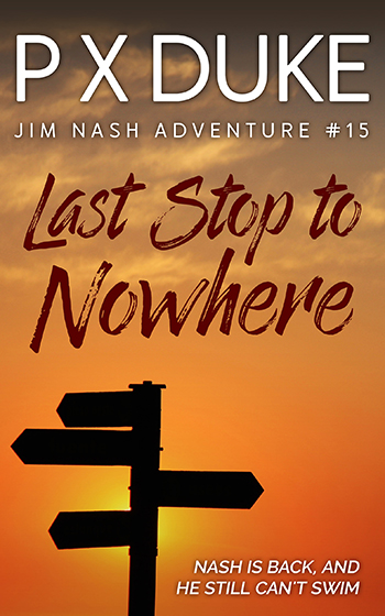 Last Stop To Nowhere – Portada para ebook