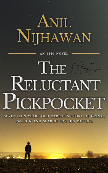 The Reluctant Pickpocket – Portada para ebook