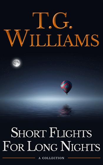 Short Flights For Long Nights – Portada para ebook